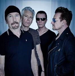 "Ouça ""You're The Best Thing"", primeiro single oficial do novo disco do U2, ""Songs Of Experience""."