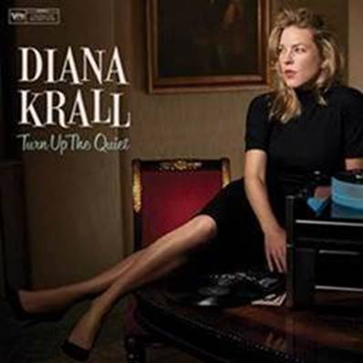 "Diana Krall anuncia turnê mundial do disco ""Turn Up The Quiet"""