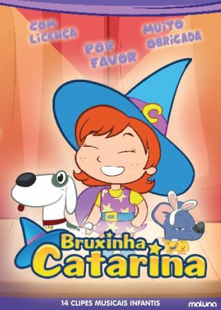 Bruxinha Catarina, personagem que está conquistando a criançada, lança seu primeiro DVD