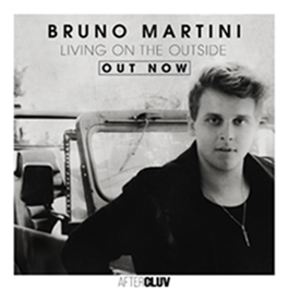 "Bruno Martini lança hoje o single e o clipe de ""Living On The Outside"""