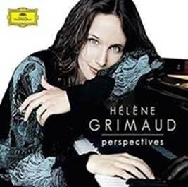"Pianista francesa Hélène Grimaud apresenta o álbum ""Perspectives – The Art of Hélène Grimaud"""