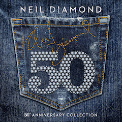 """The 50th Anniversary Collection"" celebra os 50 anos de carreira de Neil Diamond"