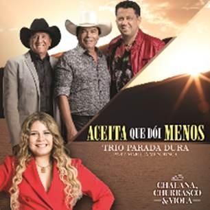 """Trio Parada Dura acaba de lançar o clipe do single inédito, """"Aceita que Dói Menos"""", com a participação de Marília Mendonça"""