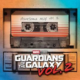 Chega às lojas hoje a versão física da trilha sonora do filme Guardiões da Galáxia Vol. 2