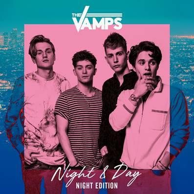 """The Vamps anuncia o lançamento do terceiro disco da banda, intitulado """"Night & Day"""""""