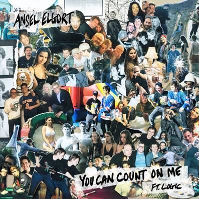 """O artista Ansel Elgort acaba de lançar a faixa """"You Can Count On Me"""", em parceria com o rapper Logic"""