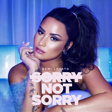 "Ouça agora o novo single de Demi Lovato ""Sorry not Sorry""!"