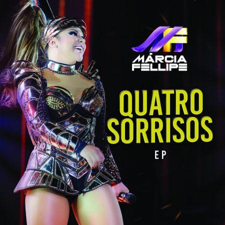 """Márcia Fellipe lança o EP """"Quatro Sorrisos"""", com canções românticas, e o single e vídeo inédito de """"4 Sorrisos"""", nova música de trabalho"""