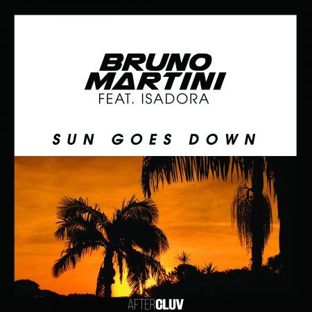 """Atual fenômeno da música eletrônica brasileira, Bruno Martini, estreia hoje o vídeo de """"Sun Goes Down"""", seu novo hit"""