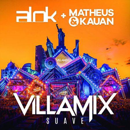 """A música """"VillaMix (Suave)"""", parceria entre Alok e a dupla Matheus & Kauan, é lançada hoje"""