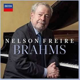 """Nelson Freire, um dos maiores pianistas de todos os tempos, lança o CD e álbum digital """"Brahms"""", pela Universal Music"""