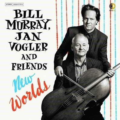 "Ator Bill Murray e violoncelista Jan Vogler lançam o álbum ""New Worlds"". Confira!"