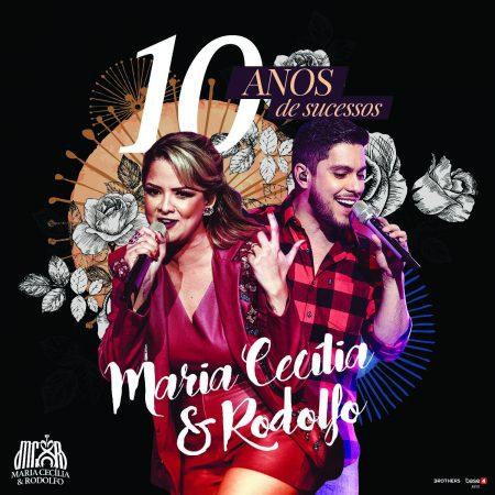 """Maria Cecília & Rodolfo lançam o EP """"10 anos"""", com os maiores sucessos da carreira da dupla"""