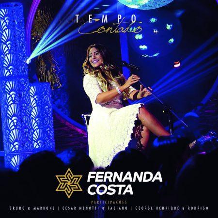 """Destaque nas principais playlists de música sertaneja, Fernanda Costa lança o álbum """"Tempo Contado"""", em todas as plataformas digitais"""