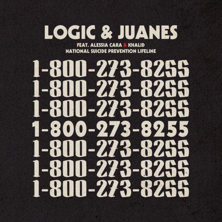"""Com participação especial do cantor Juanes, o single """"1800-273-8255"""", do rapper Logic, ganha versão remix com trechos em espanhol"""