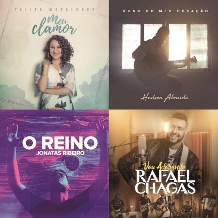 UMCG lança os singles de seus novos talentos: Talita Magalhães, Rafael Chagas, Hudson Almeida e Jonatas Ribeiro