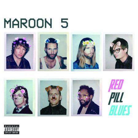 "Maroon 5 lança hoje o novo álbum ""Red Pill Blues"""