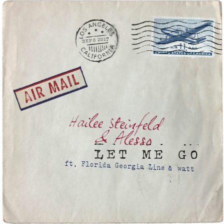 """Hailee Steinfeld continua a escalar a parada da Billbord, com o hit """"Let Me Go"""", em parceria com o duo Florida Georgia Line e o DJ Alesso"""