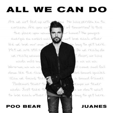 """Em parceria com Juanes, Poo Bear lança o single """"All We Can Do"""". Ouça agora!"""