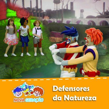 """A dupla de palhaços Teleco & Teco Nova Geração lança o vídeo de """"Defensores da Natureza"""", em seu canal oficial, na Vevo"""