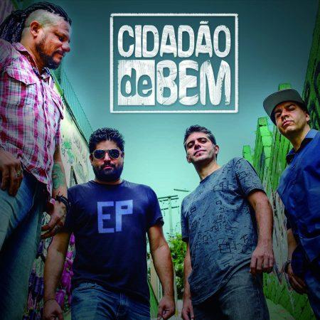 A banda de rock Cidadão de Bem lança hoje seu EP homônimo em todas as plataformas digitais