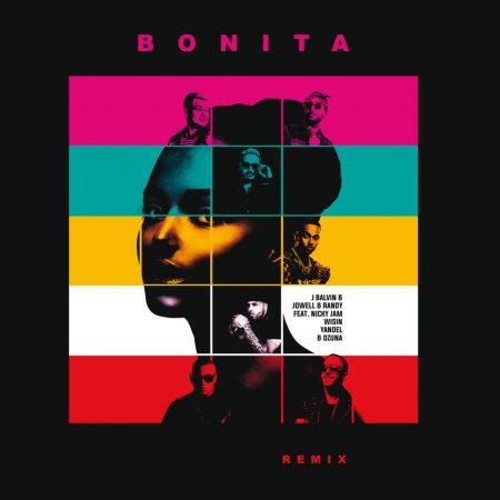 """""""Bonita"""", de J Balvin, ganha versão remix com as participações de Jowel & Randy, Ozuna, Nicky Jam, Wisin e Yandel"""