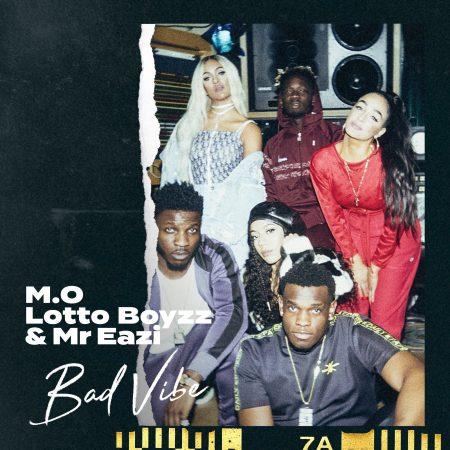 """Grupo britânico M.O lança canção """"Bad Vibe"""", em parceria com Lotto Boyzz e Mr. Eazi"""
