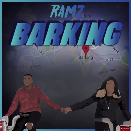 """Rapper britânico Ramz entra no Top #10 do Spotify UK com seu single """"Barking"""""""