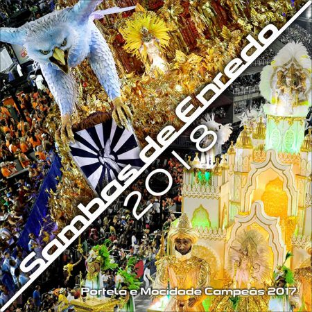 Carnaval está chegando! Confira os lyric videos das músicas do álbum Sambas de Enredo 2018