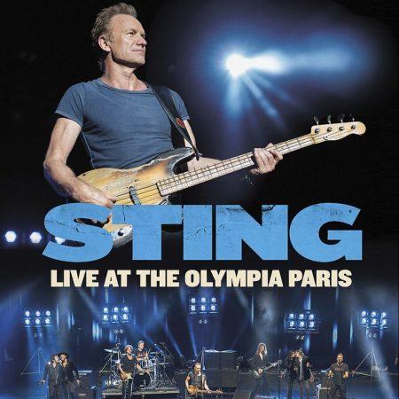 """""""Sting: Live At The Olympia Paris"""" já está disponível em DVD e para download digital"""