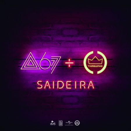 """Atitude 67 lança o single e o lyric video de """"Saideira"""", em parceria com Thiaguinho, um dos empresários da banda"""