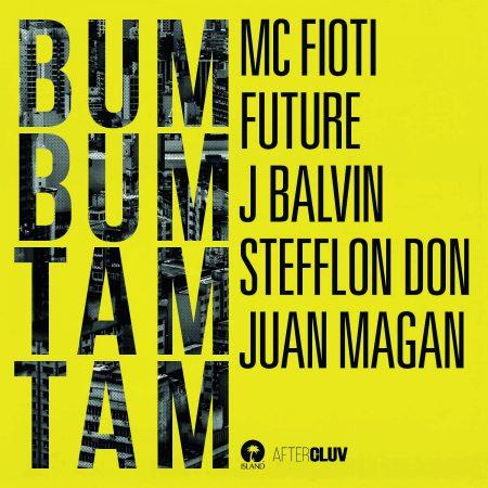 """""""Bum Bum Tam Tam"""", parceria de MC Fioti com Future, J Balvin, Stefflon Don e Juan Magan, é ouro no Brasil e platina na Espanha."""