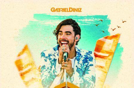 """Fenômeno do forró nacional, Gabriel Diniz lança o CD, DVD e álbum digital """"GD Na Ilha – Ao Vivo em Fernando de Noronha"""""""