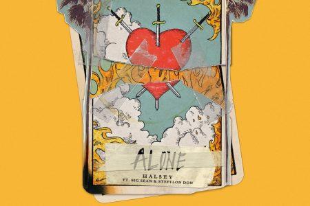 """Halsey divulga nova versão de """"Alone"""", em parceria com Big Sean e Stefflon Don"""