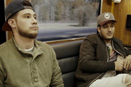 """Websérie """"Blessed"""": No penúltimo episódio, Bruno & Barretto realizam o sonho de cantar na capital mundial do country, em Nashville. Dupla lança hoje o clipe """"Rolo Novo"""""""
