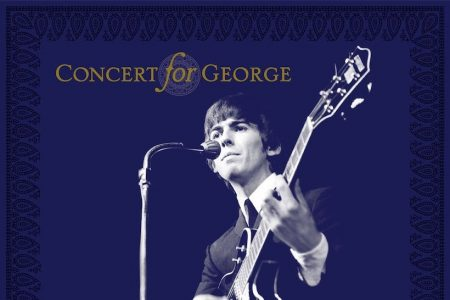 """Com participações de Eric Clapton e Paul McCartney, chega às lojas hoje """"Concert For George"""", CD duplo do tributo ao beatle George Harrison"""