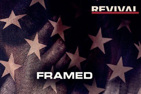 "Eminem divulga seu novo videoclipe, ""Framed"""