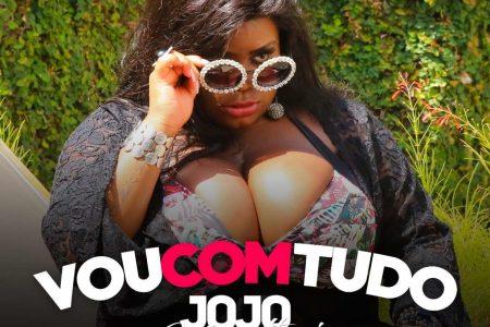 """Jojo Todynho lança hoje seu novo single e clipe, """"Vou com Tudo"""", em todas as plataformas digitais"""