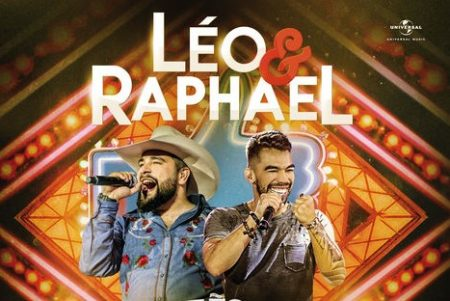 """A dupla Léo & Raphael apresenta hoje três vídeos do novo trabalho, """"Tão Prático – Ao Vivo em Londrina"""", em seu canal na Vevo"""