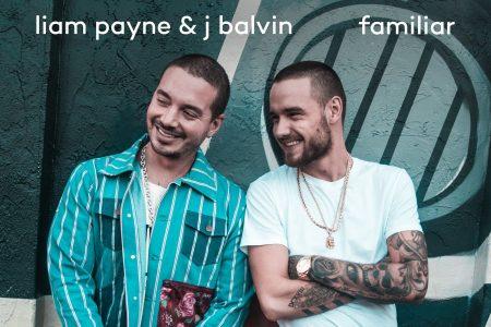 """Liam Payne libera hoje seu mais novo single, """"Familiar"""", em parceria com J Balvin"""