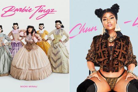 Após fazer os fãs esperarem por mais de um ano por um lançamento solo, Nicki Minaj lança duas faixas inéditas no mesmo dia