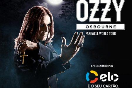 """Bradesco Music e cartão Elo te levam para assistir ao show """"Ozzy Osbourne – Farewell World Tour"""", com tudo pago!"""