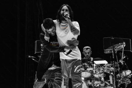 Cantor espanhol Pablo López se apresenta com a banda Thirty Seconds To Mars
