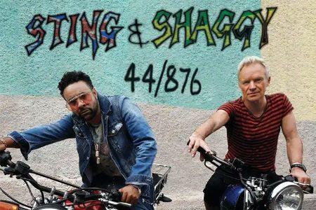 """Sting e Shaggy seguem a parceria de sucesso e divulgam nova música, """"44/876"""""""