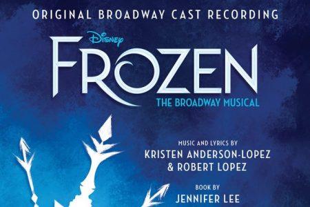 """Chega às principais lojas o CD """"Frozen: The Broadway Musical"""", trilha sonora do espetáculo musical"""