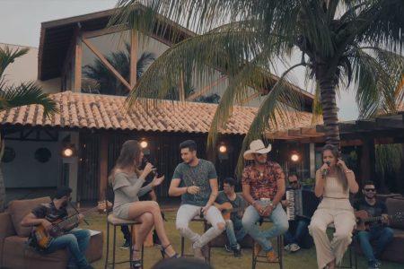 """Júlia & Rafaela lançam clipe da música """"Declaração Não Digitada"""", em parceria com a dupla Bruno & Barretto"""