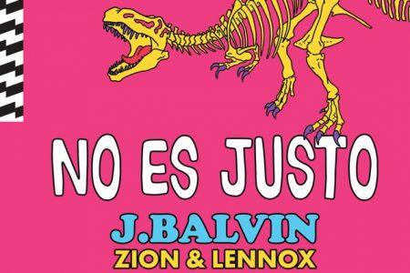 """A estrela do reggaeton J Balvin lança """"No Es Justo"""", em parceria com Zion & Lennox"""