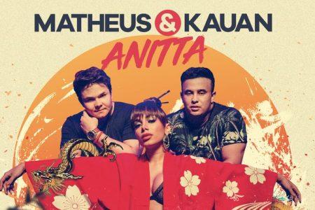 """Matheus & Kauan lançam hoje o single e o clipe de """"Ao Vivo e a Cores"""", com a participação de Anitta, e o álbum """"Intensamente Hoje"""", nas plataformas digitais"""