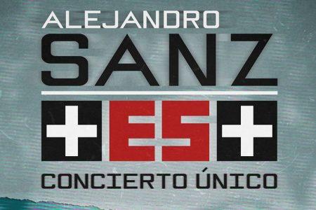 O cantor Alejandro Sanz celebra o 1° aniversário do concerto +ES+