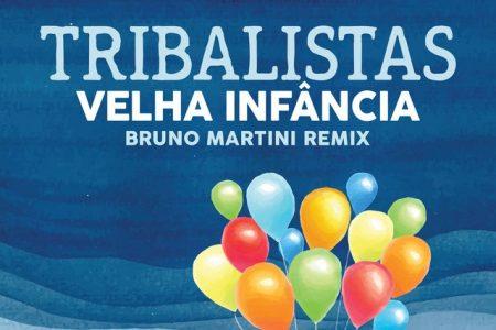 """Bruno Martini divulga versão remix do hit """"Velha Infância"""", dos Tribalistas"""